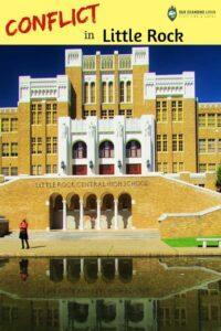 Conflict in Little Rock-Central High School-desegregation-Little Rock Nine-public schools
