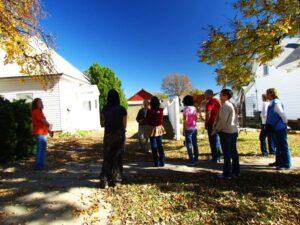 A tour of local folk art.