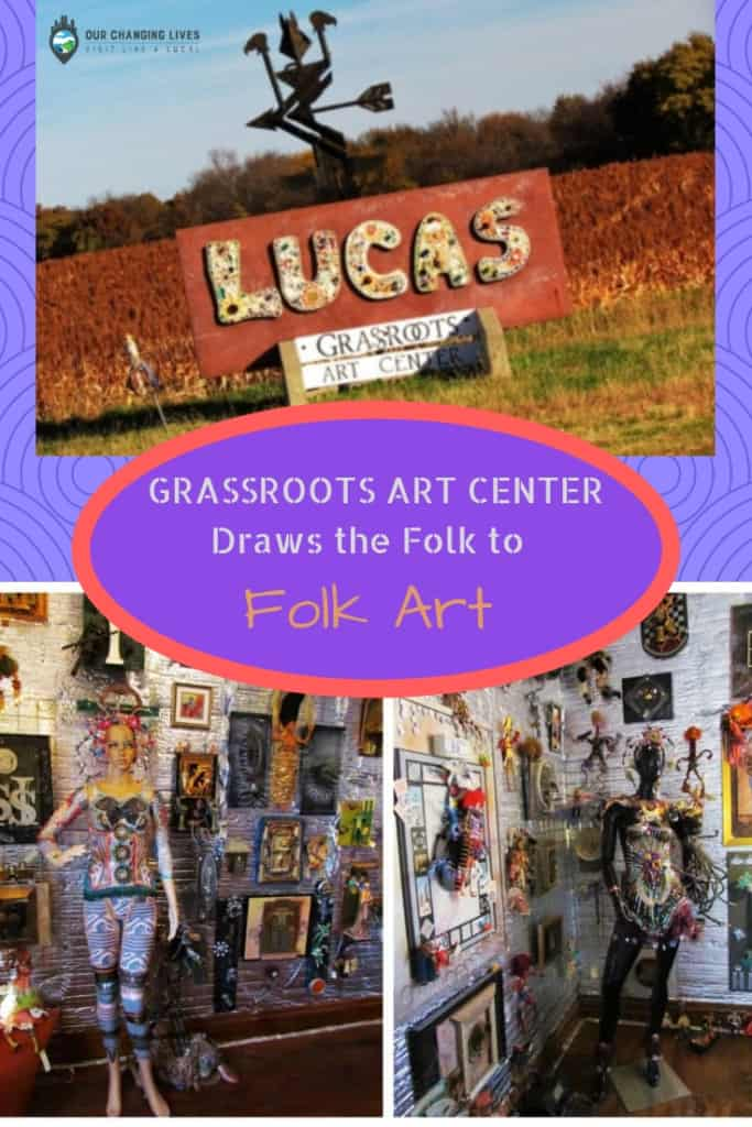 Grassroots Art Center-Lucas, Kansas-folk art-grassroots art-artists-local art-Inez Marshall