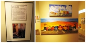 The Grassroots Art Center highlights a traveling exhibit, which showcases regional artists.