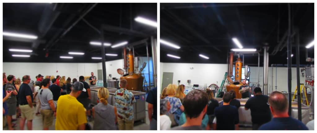 the tours at Rock Town Distillery are as fun as they are informative.