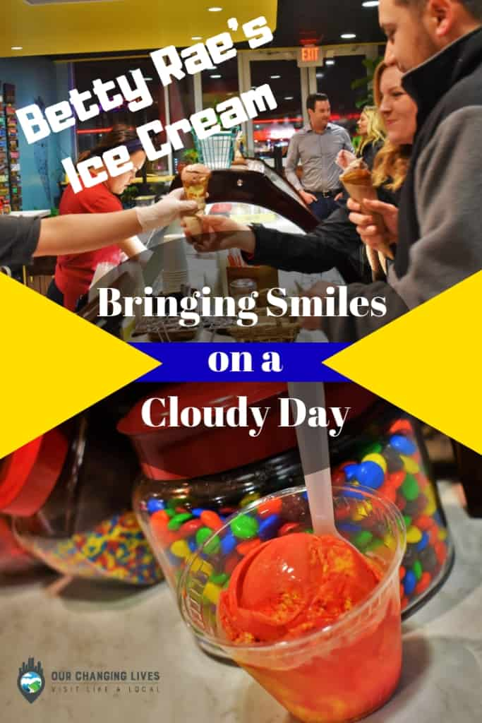 Betty Rae's-ice cream-Kansas City-Chiefs flavor-boozy shakes-smore's sundae-brings smiles on a cloudy day