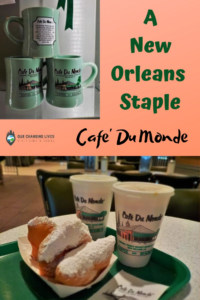 Cafe Du Monde-New Orleans staple-beignets-chicory coffee-French Quarter-French Market