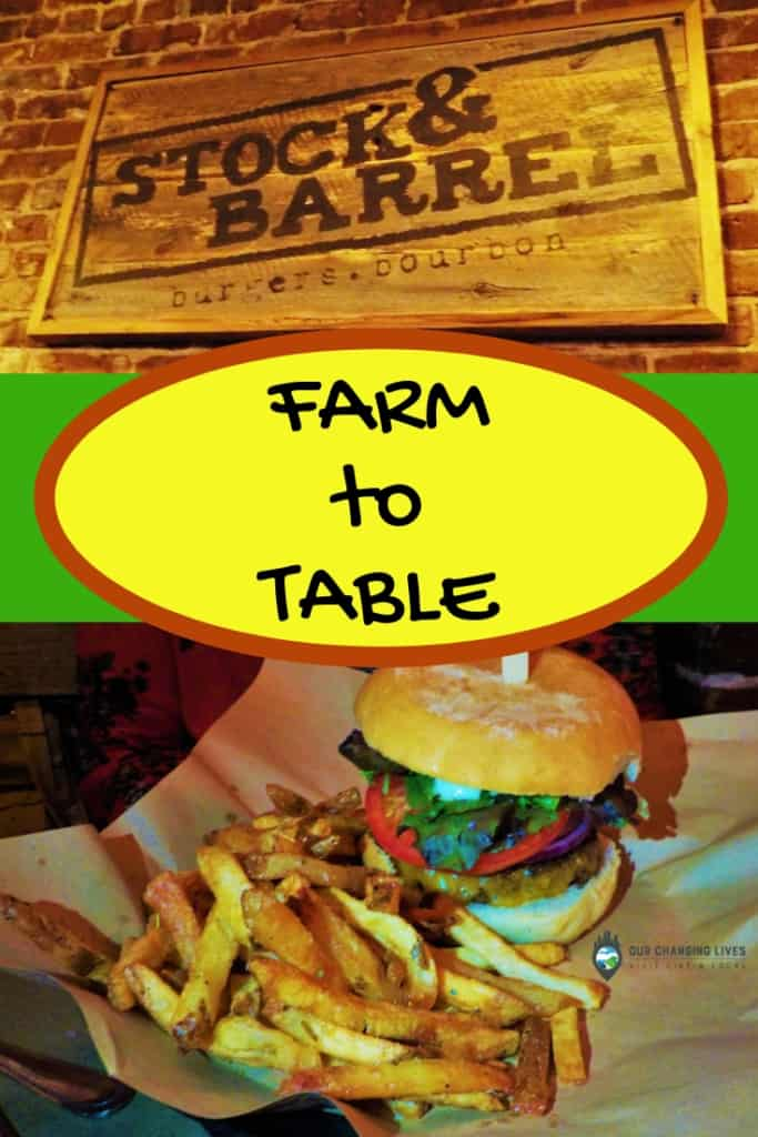 Farm to Table at Stock & Barrel-Knoxville-restaurants-burgers-bourbon-dining-fresh ingredients-source local