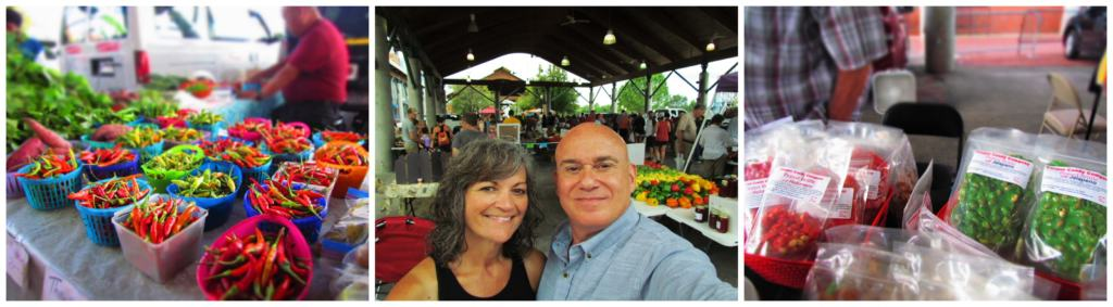 The Little Rock Farmers Market offers visitors an explosion of sights, sounds, and smells.