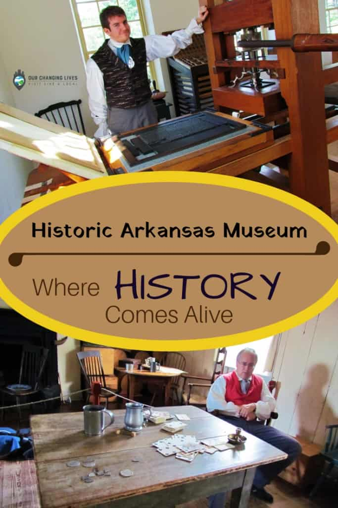Historic Arkansas Museum-Where History Comes To Life-Little Rock, Arkansas-history museum-pioneers-Bowie knife-Native Indians