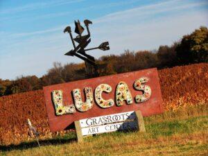 Lucas, Kansas is a great destination for folk art lovers.