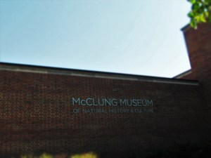 McClung Museum in Knoxville, Tennessee.
