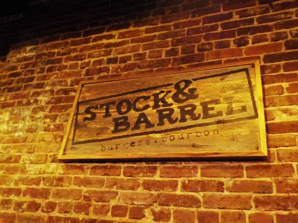Stock & Barrel is a burgers and bourbon joint that brings farm to table in downtown Knoxville, Tennessee.
