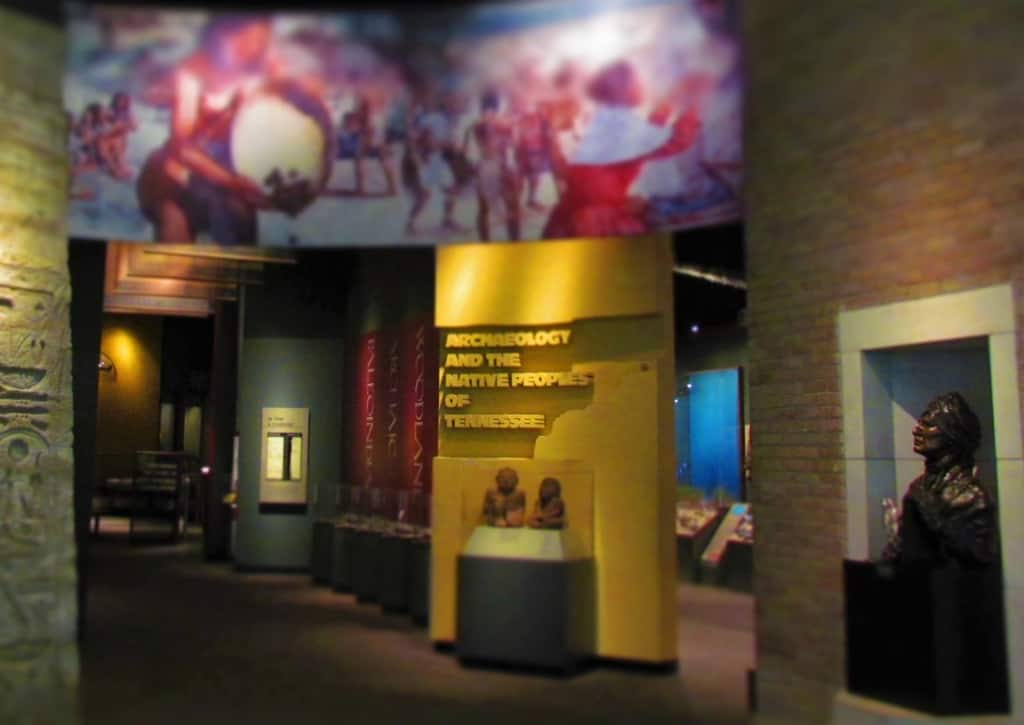 The McClung Museum of Natural History has a wide range of exhibits that are free for the public.