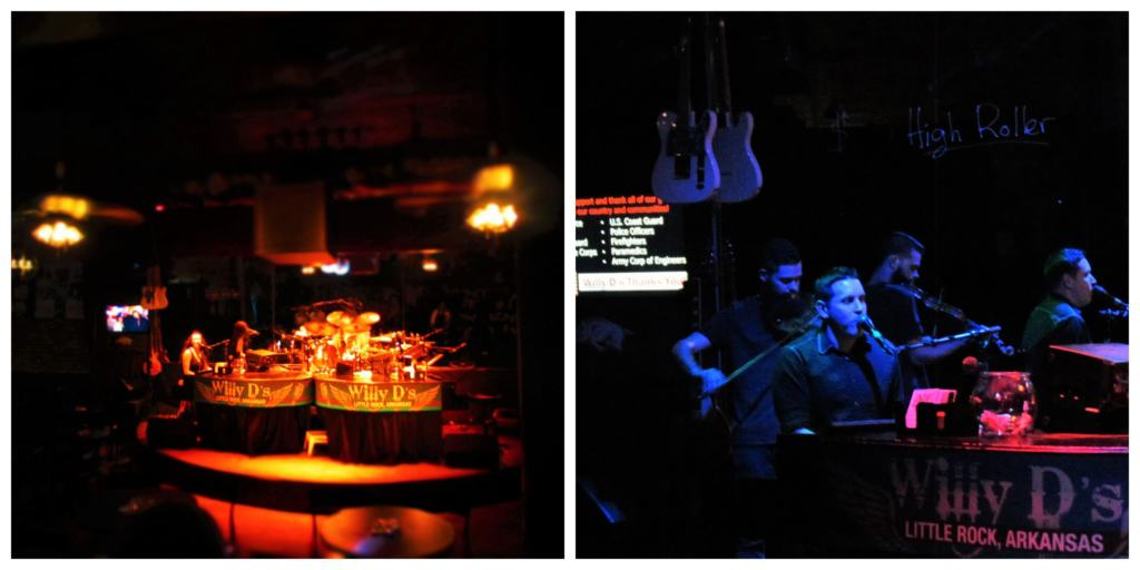 Willy D's Rock N Roll Piano Bar was a fun filled evening of drinks, singing, and dueling pianos.