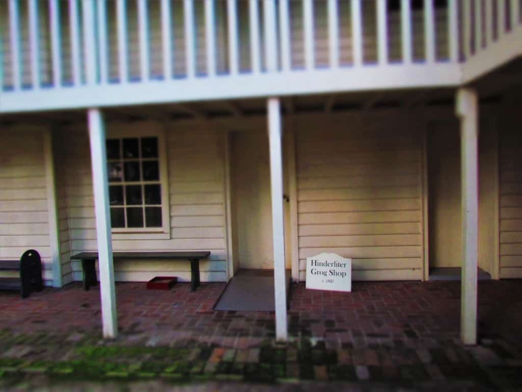 The Hinderliter Grog Shop is believed to be the oldest remaining building from Little Rock's historical beginnings.