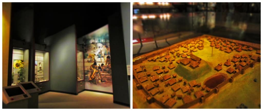 The archeological exhibits showcase the Native Indians who inhabited the lands for generations.