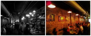 The interior of Stock & Barrel is usually crowded with satisfied diners.