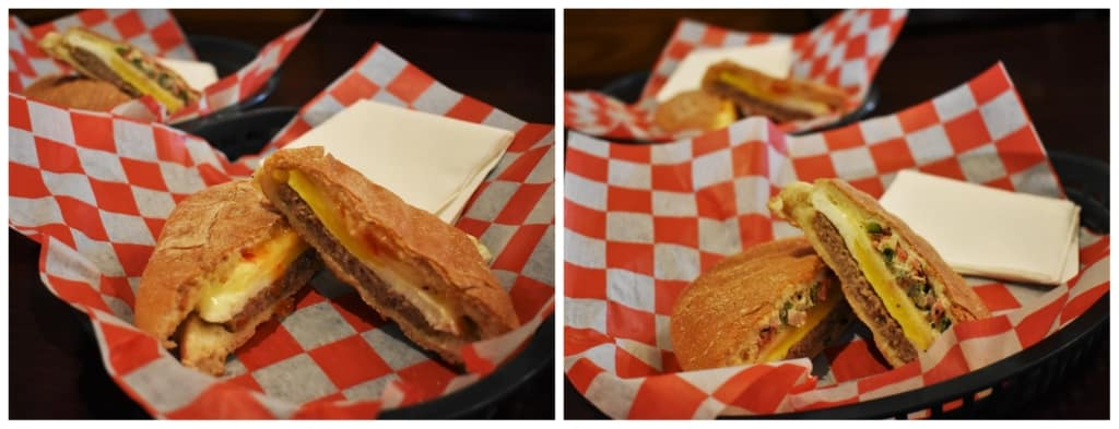 Breakfast paninis at Harbor Light are a good protein choice for a day of exploring.