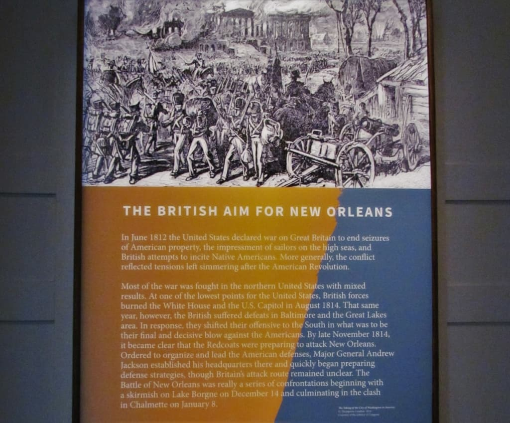 The British attack of new Orleans was the final decisive battle of the War of 1812.