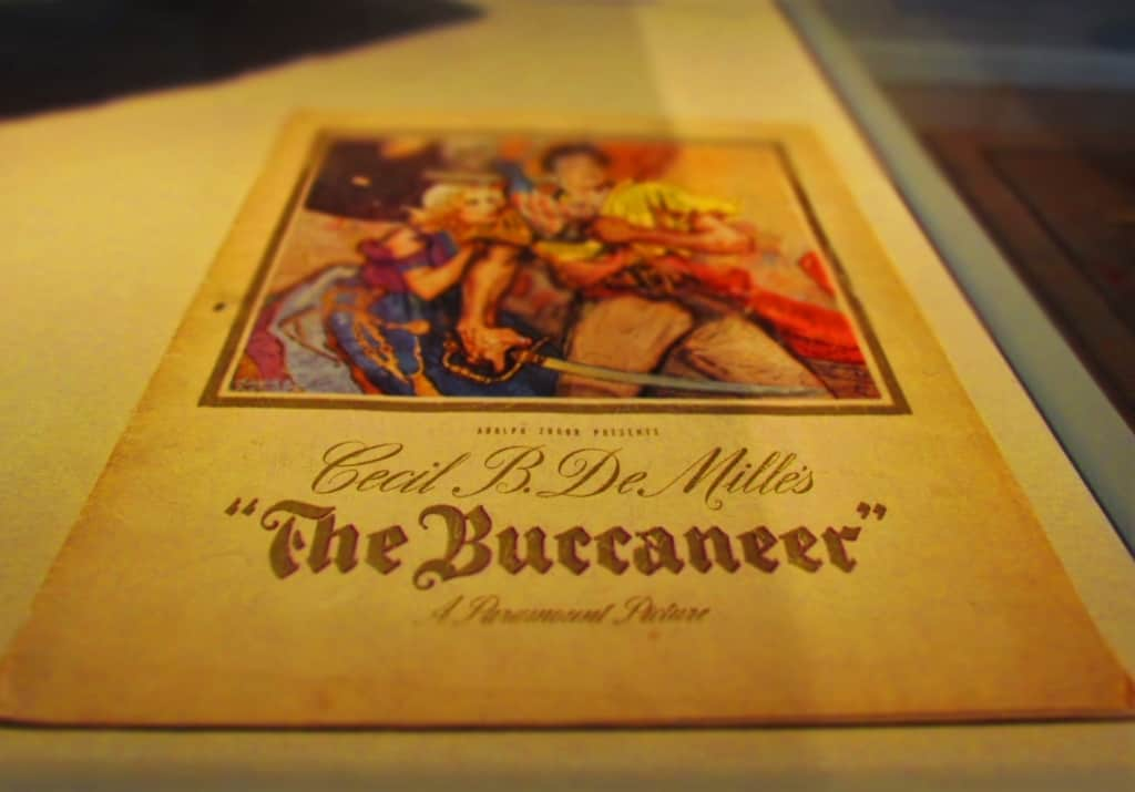 Hollywood immortalized the pirate Jean Lafitte in the movie The Buccaneer.