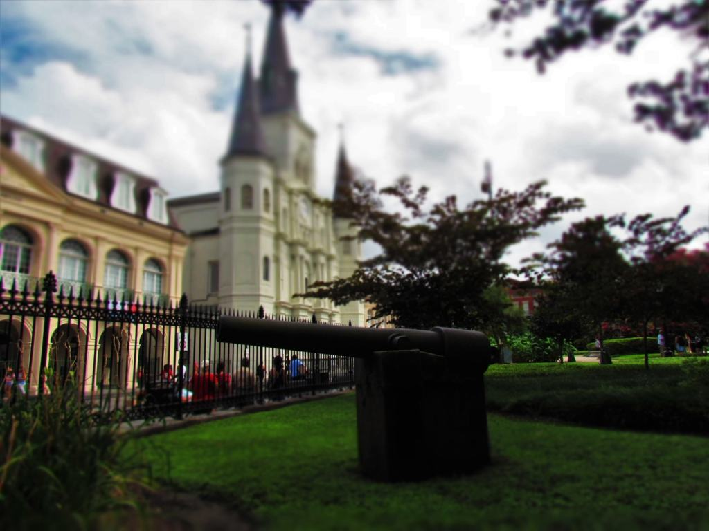 Jackson Square is a prominent landmark in New Orleans.