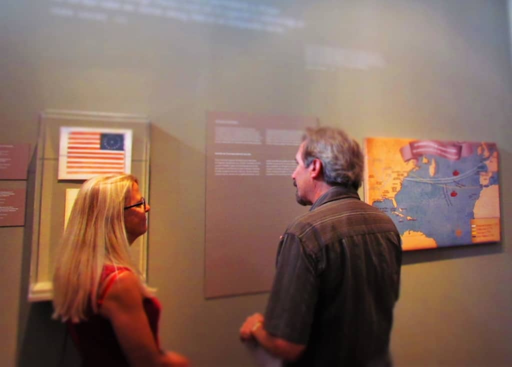 Visitors to the Cabildo can learn more about the early days of New Orleans.