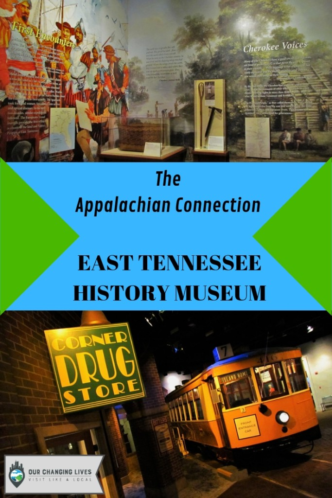 East Tennessee History Museum-Appalachian region-cherokee indians-davy crockett-explorers-frontier pioneers-Knoxville Tennessee