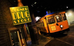 The trolley stops at East Tennessee Museum.