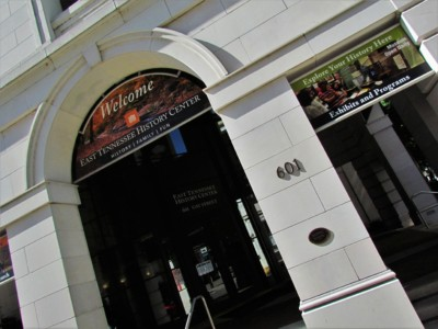 The East Tennessee History Museum is agreat place to get an understanding of the background of this appalachian region.