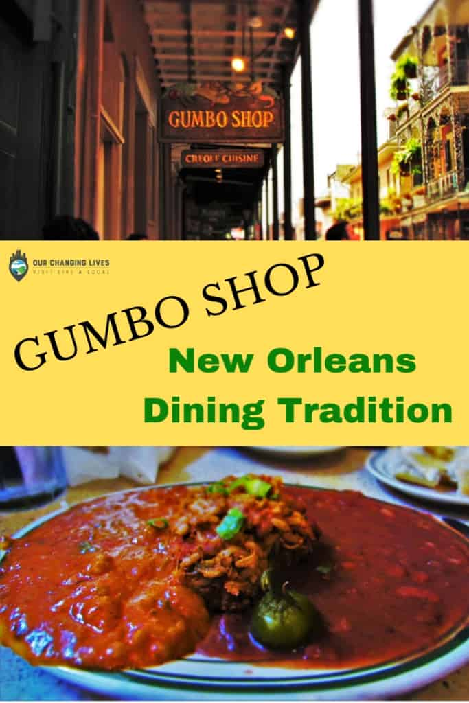 Gumbo Shop-New Orleans restaurant-red beans and rice-jambalaya-shrimp creole-French Quarter-dining-Creole cuisine