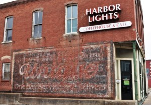 Harbor Lights Coffee House has a home in the historic Leavenworth downtown.