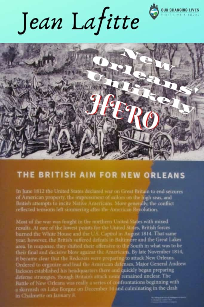 Jean Lafitte- New Orleans-French Quarter-War of 1812-pirate-privateer-French Quarter Visitor Center