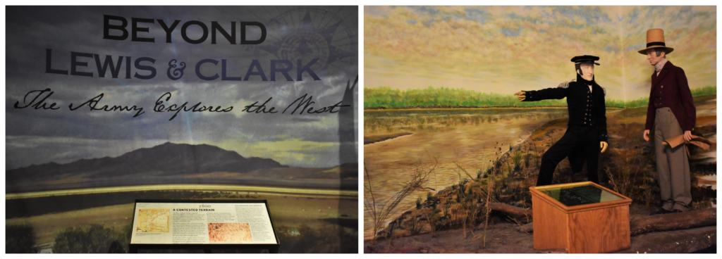 The Lewis and Clark exhibit at the Frontier Army Museum helps visitors gain a better understanding of the scope of the mission these explorers faced.
