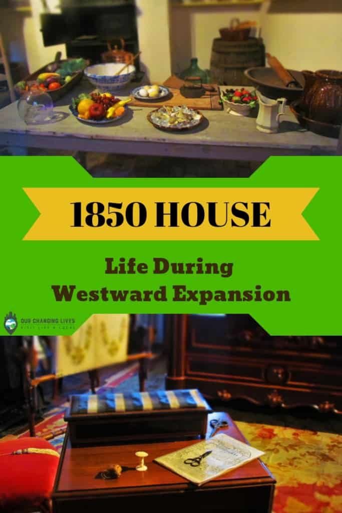 Life during westward expansion-New Orleans-1850 House-French Quarter-Louisiana State Museum-Victorian style-musuem