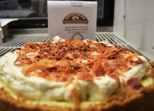 Who's ready for some dessert, especially if it's Maple Bacon Cheesecake.