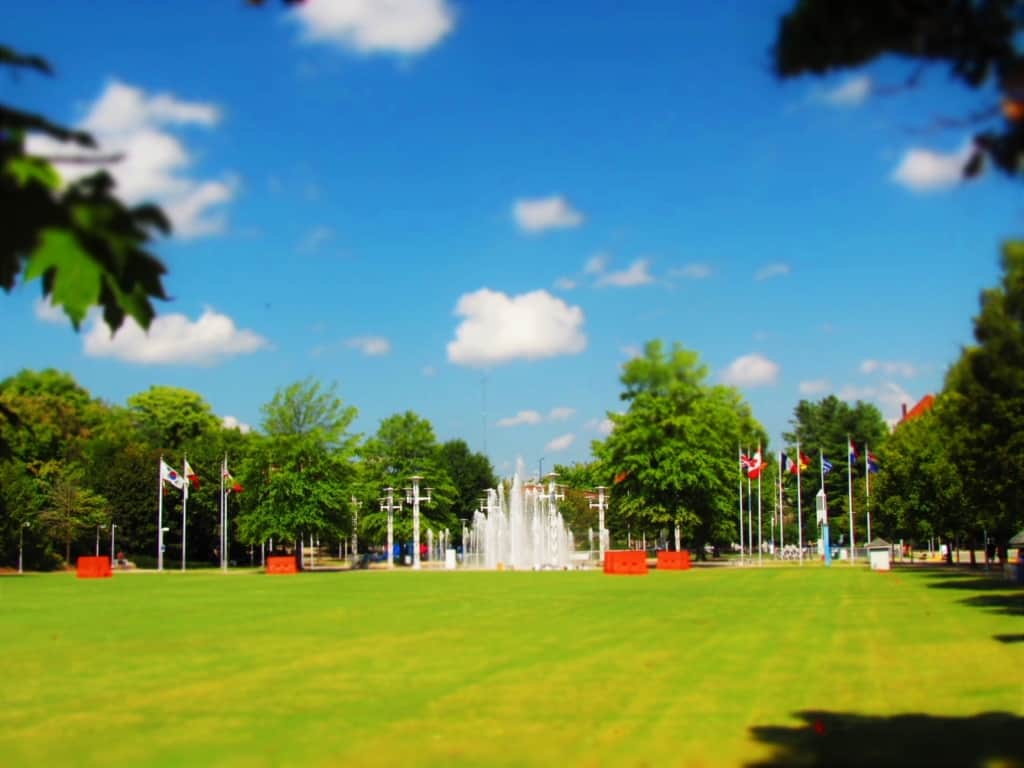 World's Fair Park is situated on land that was used for this famous exposition.