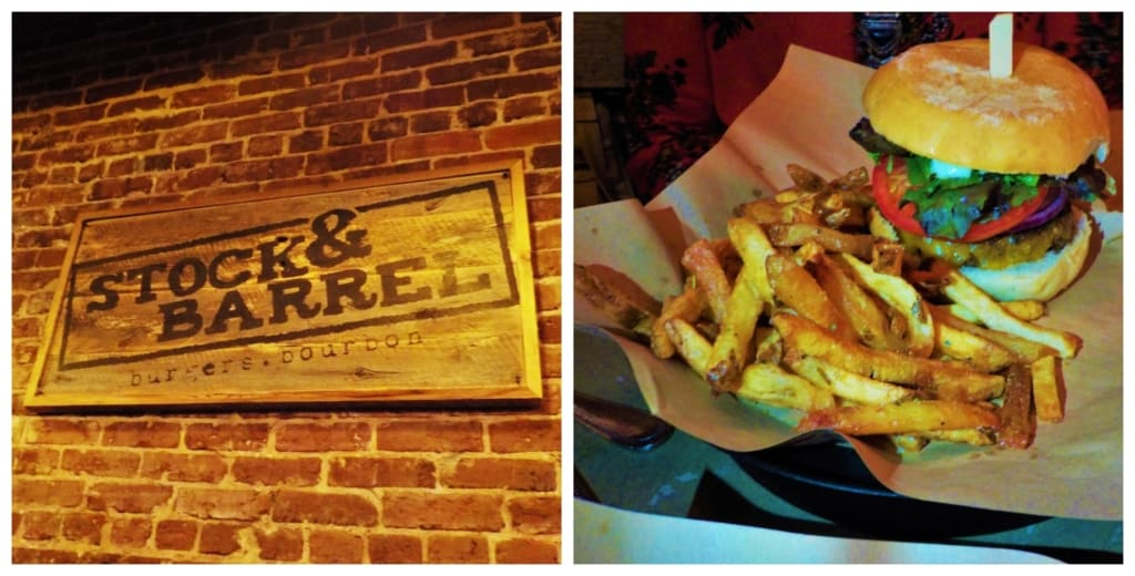 the Stock & Barrel is a local favorite in Market Square.