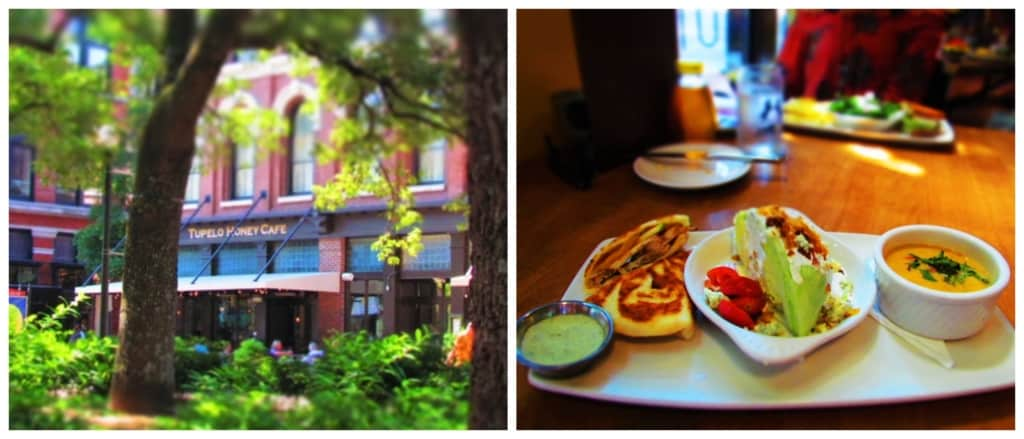 Tupelo Honey was the first eatery that we experienced during our 24 hours in downtown Knoxville.
