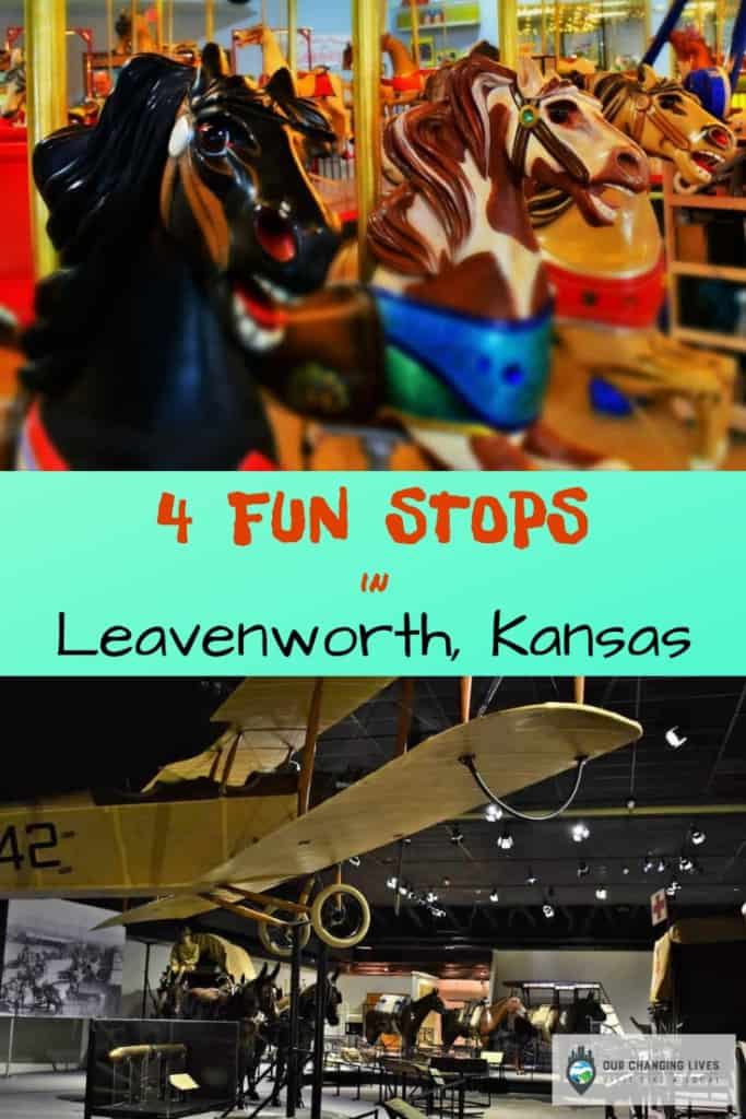 4 Fun Stops in Leavenworth, Kansas-CW Parker Carousel Museum-Frontier Army Museum-Pullman Place-Harbor Lights Coffeehouse-tourism