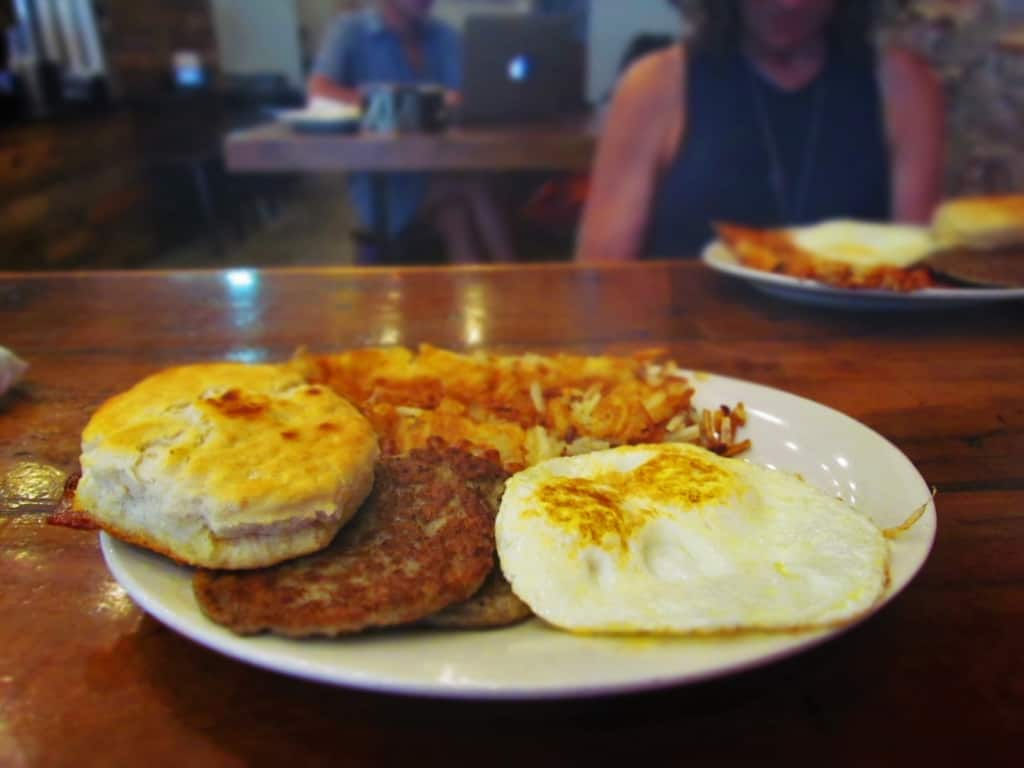 A good breakfast is reason for food Envie in the French Quarter.