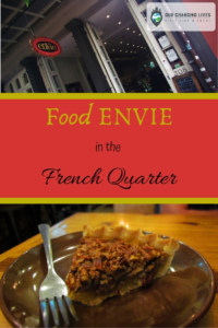 Food Envie in the French Quarter-New Orleans-dining-coffee-dessert-Pecan Pie