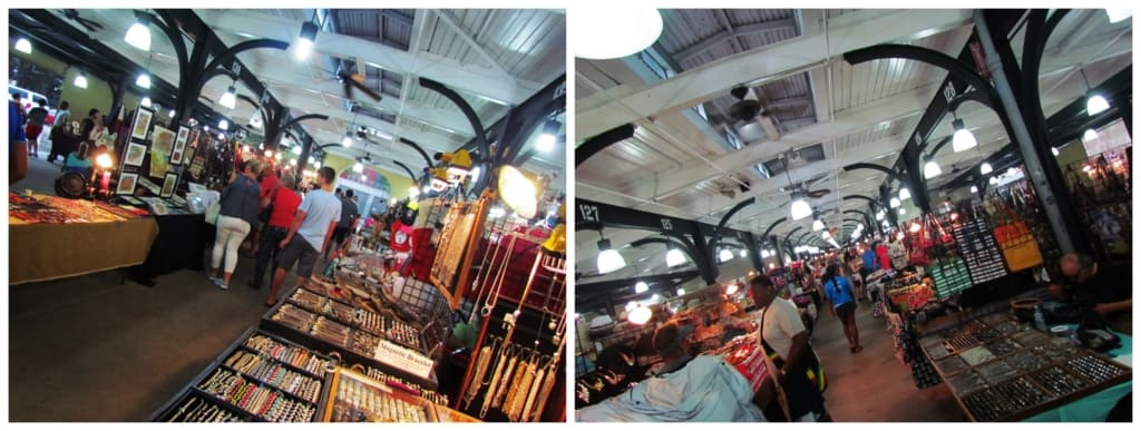 The French Market offer visitors 5 blocks of fun and shopping galore.