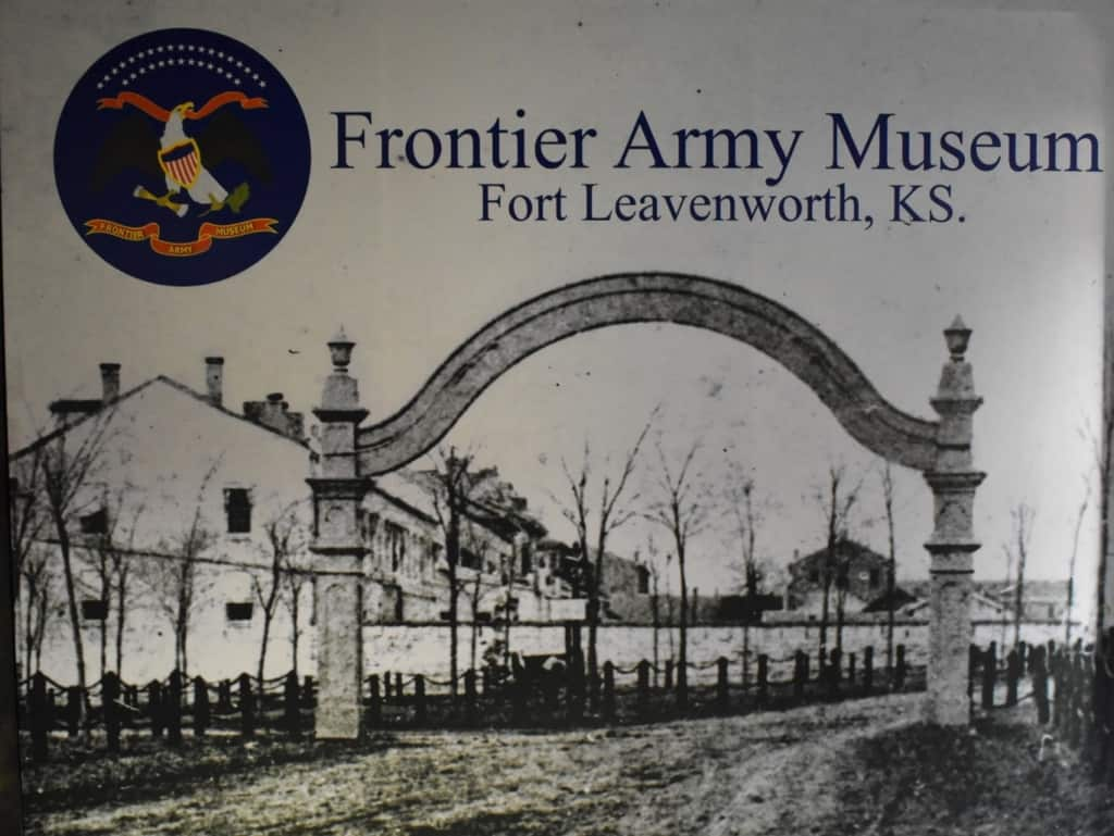 The Frontier Army Museum is on of the 4 fun stops we made in Leavenworth, Kansas.