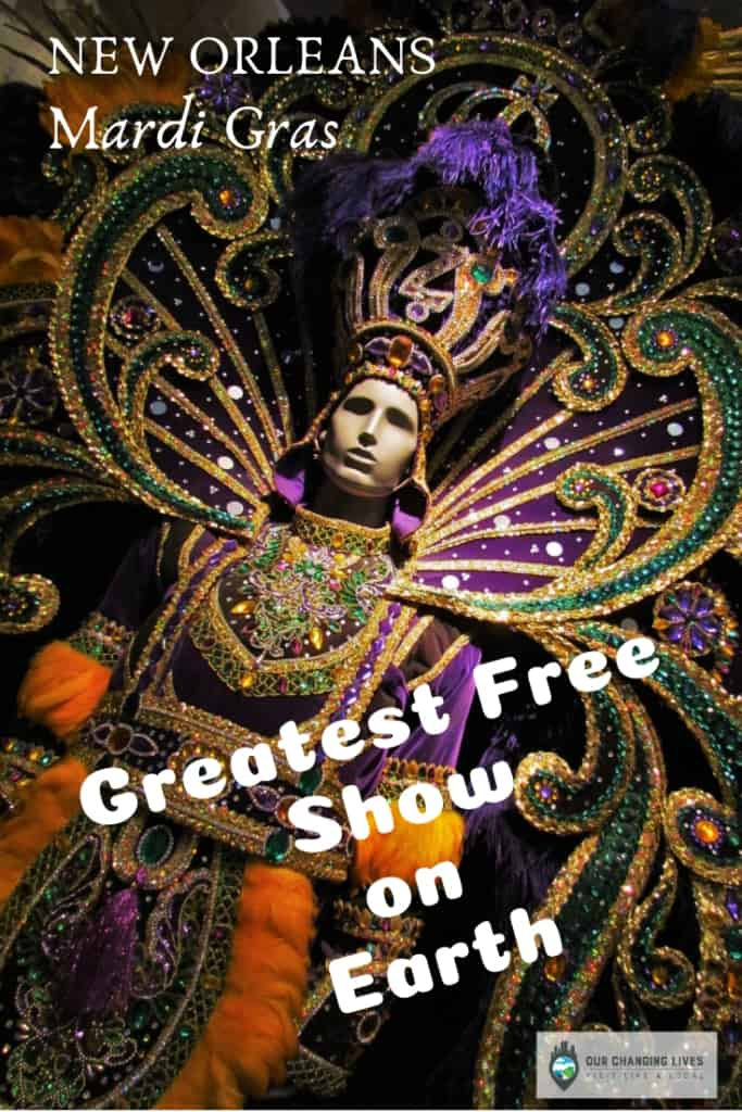 Greatest Free Show on Earth-New Orleans-Mardi Gras-parades-beads-throws