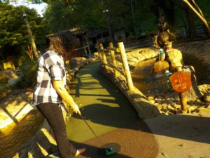 We found mini-golf galore during our visit to Gatlinburg, Tennessee.