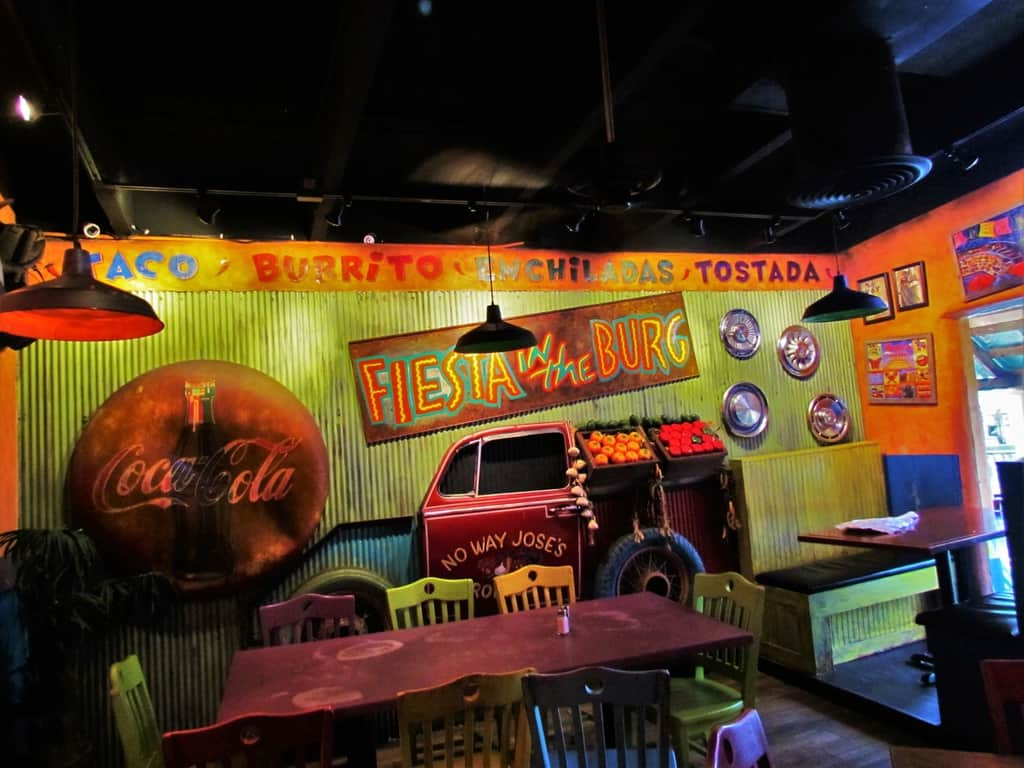 No Way Jose's Cantina is a local chain in eastern Tennessee.