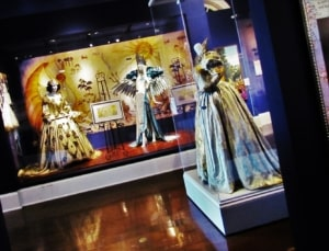 Amazing ball gowns are worn by the Krewe members attending formal balls.