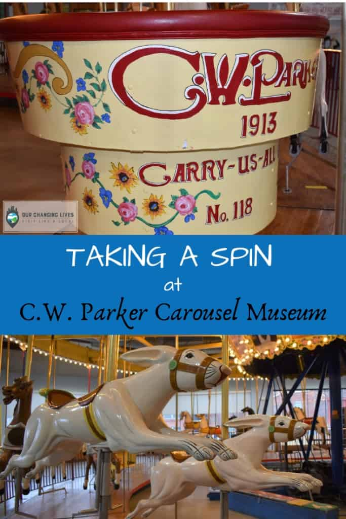 Taking a Spin at C  W  Parker Carousel Museum - Our Changing Lives