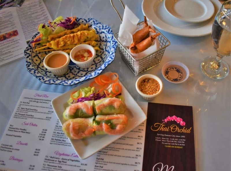 Thai Orchid brings the flavor to bear in their unique dishes.