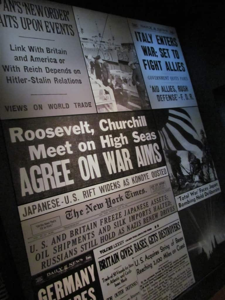 Newspapers around the world focused headlines on the actions taking place in war prone areas.