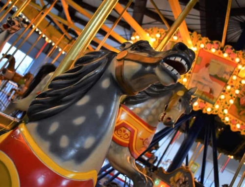 Taking a Spin at C. W. Parker Carousel Museum