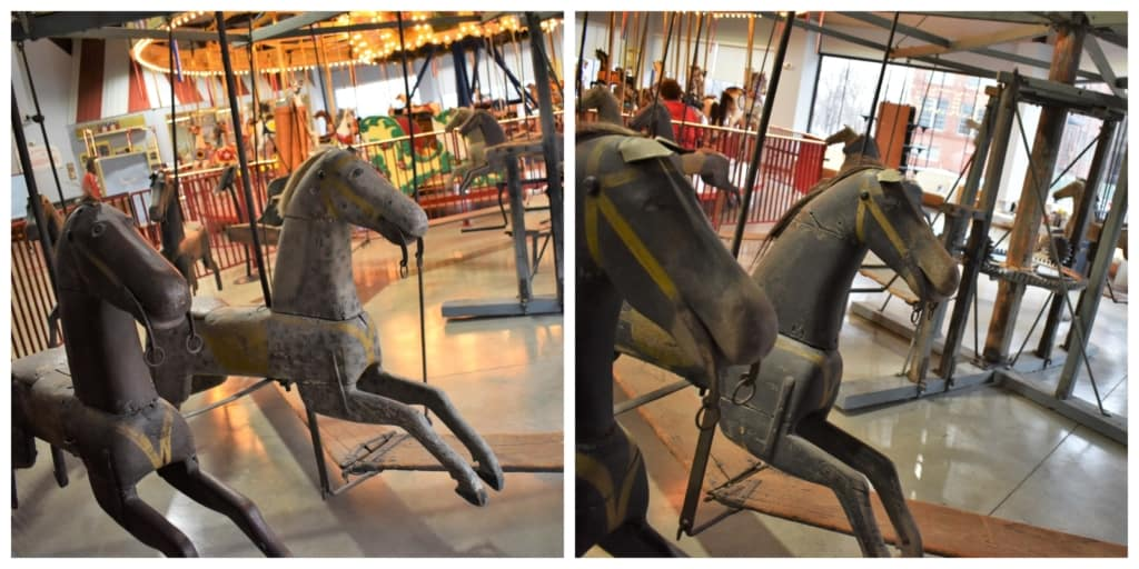 One of the oldest carousels in existence resides at the C. W. Parker Carousel Museum in Leavenworth, Kansas.