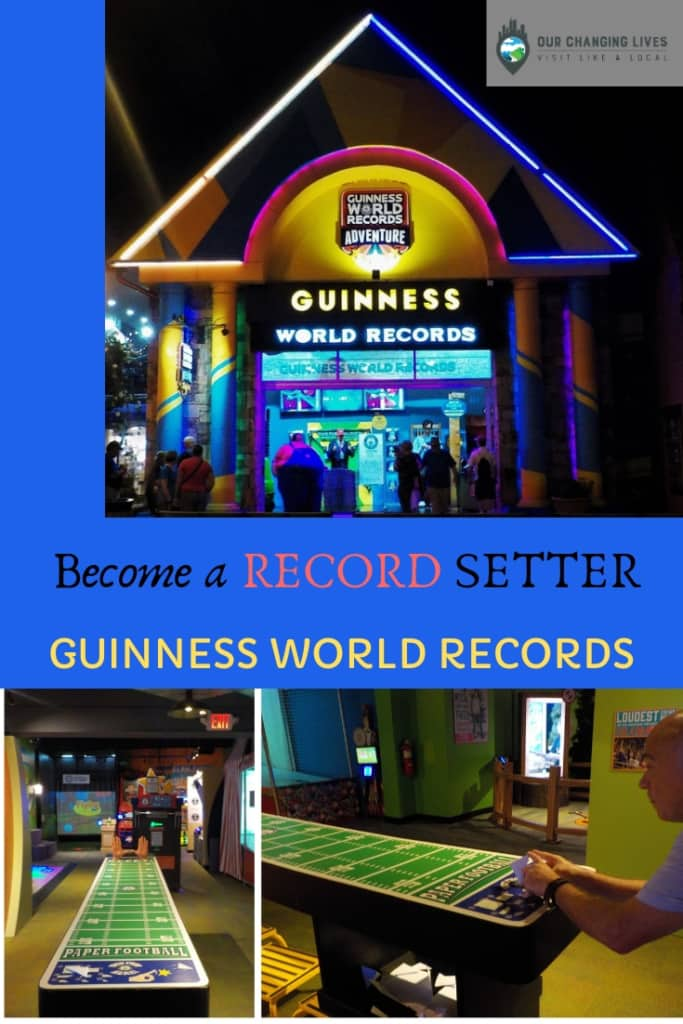 Become a reord setter-Guinness World Records Adventure-world record-games-fun-activity-Gatlinburg-Ripley's